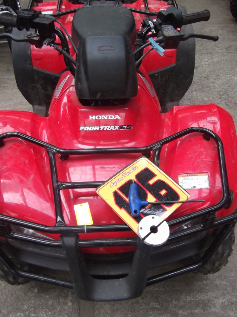 Ayrtons new Race Quad?