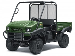 KIK supplied Kawasaki Mule from just £50 a week